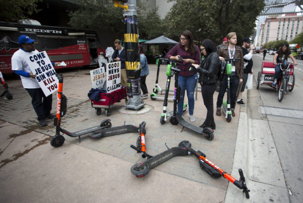 As Scooters Proliferate, How Are Cities Managing The Chaos?