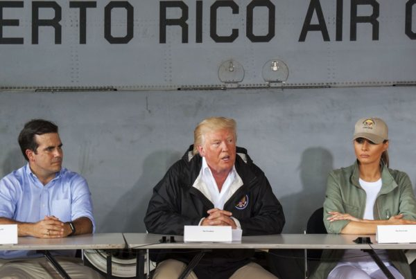 Hurricane Dorian Mostly Misses Puerto Rico, While Trump Took Direct Aim At Its Politicians