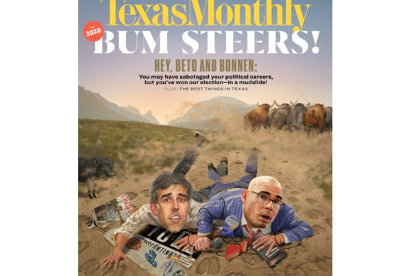 Beto And Bonnen Top The Year's Bum Steer Awards