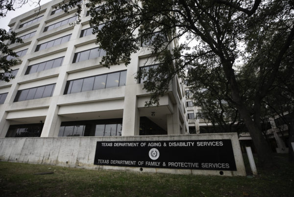 Without The Right Placements Available, More Texas Foster Kids Are Sleeping In State Offices