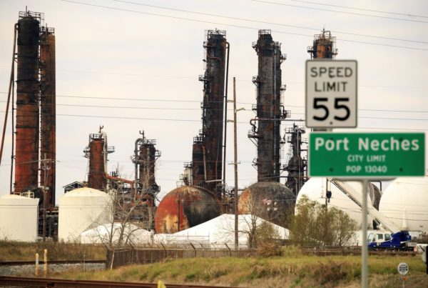 Texas Sues Company Whose Port Neches Chemical Plant Exploded