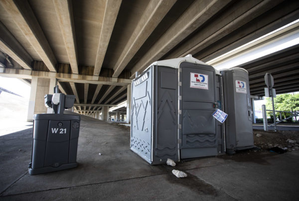 How Some Cities Are Helping Homeless Texans Who Can't Shelter In Place