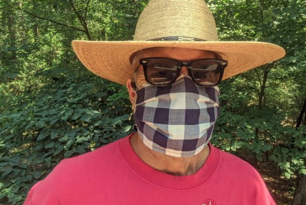 My Mask: The East Texas Runner/Artist
