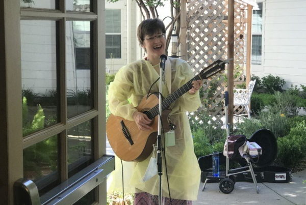 Porch Concerts For A Patient On The Cusp Of 100