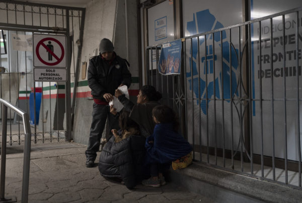 In The Middle Of A Pandemic, Asylum-Seekers Expelled And 'Left To Their Own Devices'