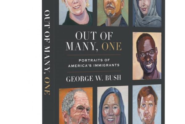 George W. Bush Paints A Statement About The Power Of Immigrants In His Next Art Book