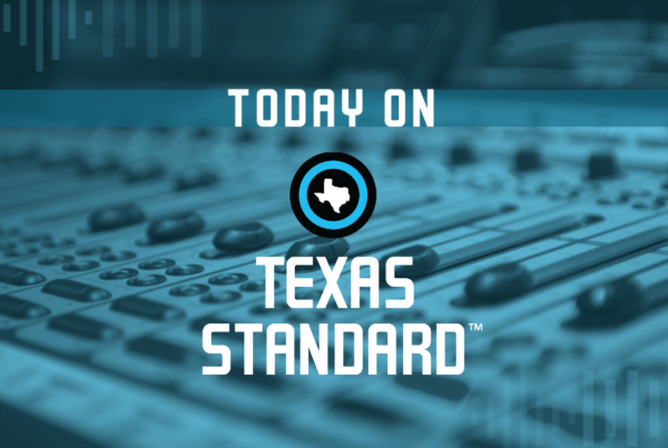 Texas Standard For January 12, 2021