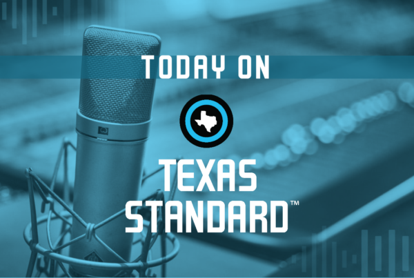 Texas Standard For January 15, 2021