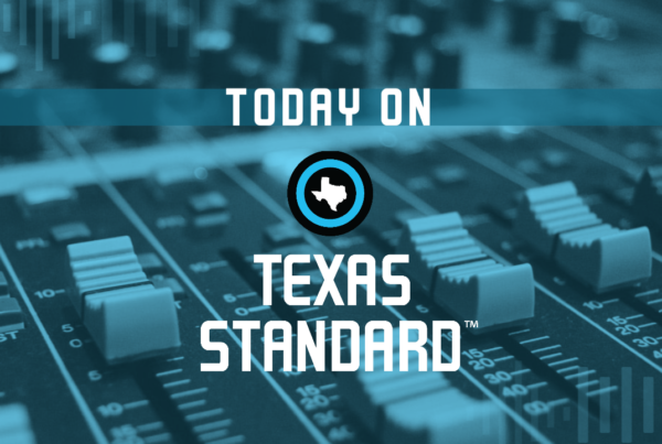 Texas Standard For October 1, 2020
