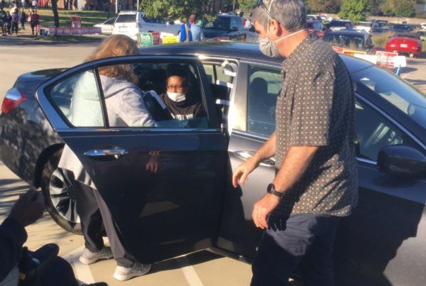 Curbside Voting Option Brings The Polling Place To The Voter's Car