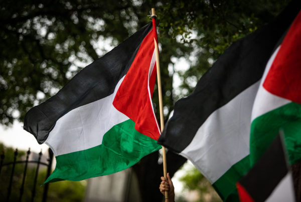 Peace Activists Say Conflict In Gaza Isn't About Religion; It's About Israeli Settlement Policies