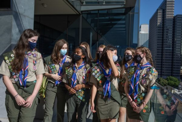 North Texas Young Women Among First In The Nation To Earn The Boy Scouts' Highest Honor