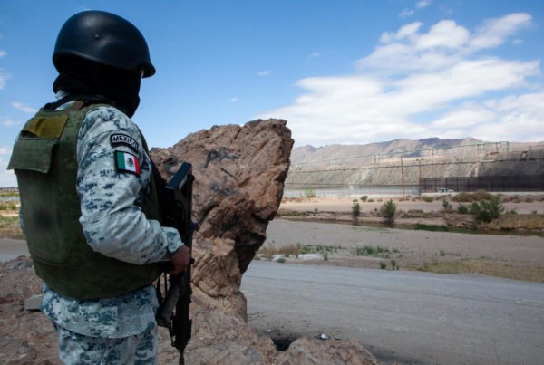 Two Years In, Mexico National Guard's Role On The Border Remains Controversial