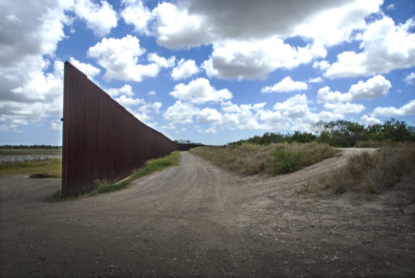 Gov. Greg Abbott Says He'll Use Crowdfunding For His Plan To Build A Border Wall