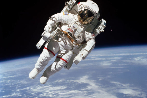 A Son Remembers His Astronaut Father And The Iconic Image We Know Him By