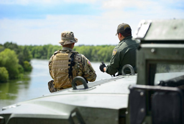 At Abbott's Invitation, Out-Of-State Law Enforcement And National Guard Members Head To The Border