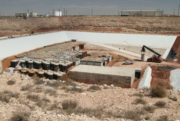 Feds Approve West Texas Nuke Waste Plan, Despite State Law Blocking It