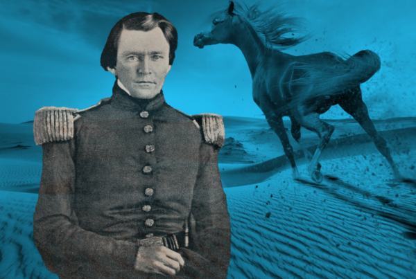 The young lieutenant who crossed the Wild Horse Desert